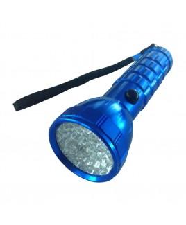 Compact Bluetooth Wireless Bamboo Keyboard, Blue